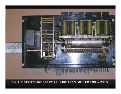 United States Fire Alarm Co. Fire Transmitter Circa 1890s
