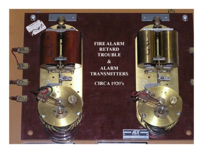 Fire Alarm Trouble & Alarm Transmitters Circa 1920s