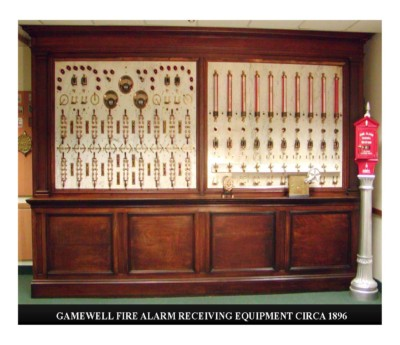 Gamewell Fire Alarm Receiving Equipment Circa 1896
