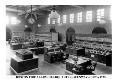 Boston Fire Alarm Headquarters (Fenway) Circa 1925)