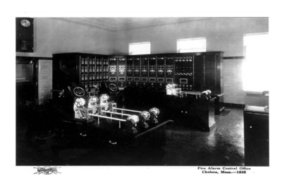 Fire Alarm Control Office (Chelsea, Mass - 1935)