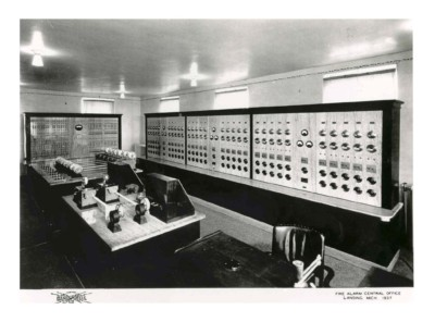 Fire Alarm Control Office (Lansing, Mich - 1937)