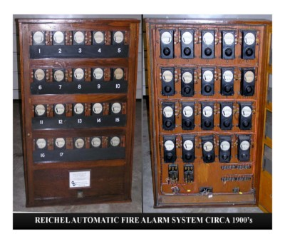 Reichel Automatic Fire Alarm System (circa 1900s)
