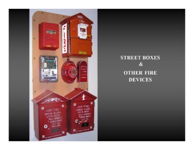 Street Boxes & Other Fire Devices
