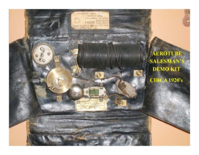 Aerotube Salesman's Demo Kit (circa 1920s)
