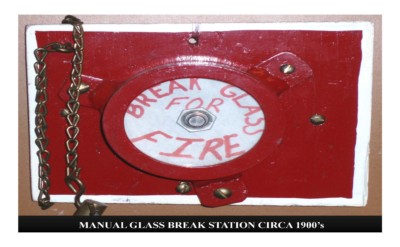 Manual Glass Break Station (circa 1900s)