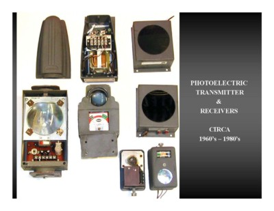 Photoelectric Transmitter & Receivers (circa 1960s-1980s)