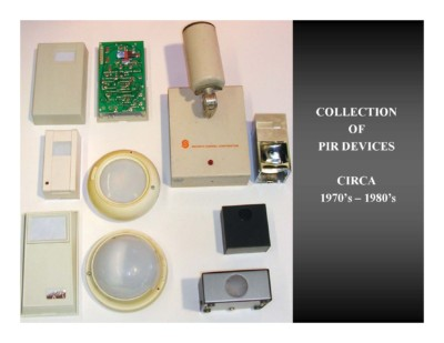 Collection of PIR Devices (circa 1970s-1980s)