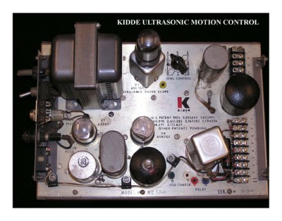 Kidde Ultrasonic Motion Control