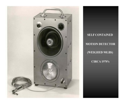 Self Contained Motion Detector (circa 1970s)