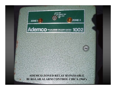 Ademco Zoned Relay (circa 1960s)