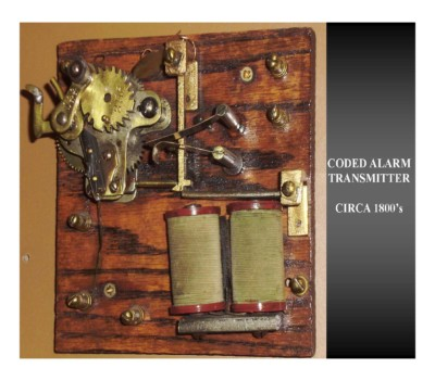 Coded Alarm Transmitter (circa 1880s)