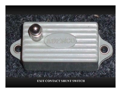 Exit Contact Shunt Switch