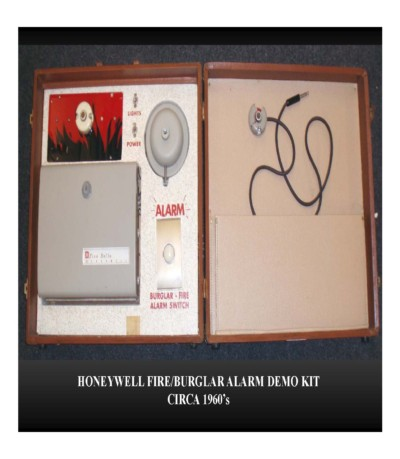 Honeywell Fire/Burglar Alarm Demo Kit (circa 1960s)